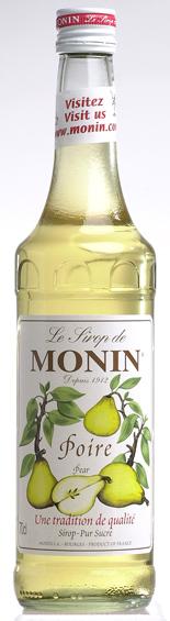 MONIN モナン ポワール 洋なし シロップ 20191111 700ml 卸売り 洋梨 限定特価