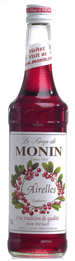 正規認証品 新規格 MONIN モナン クランベリー 本店 20191111 シロップ 700ml