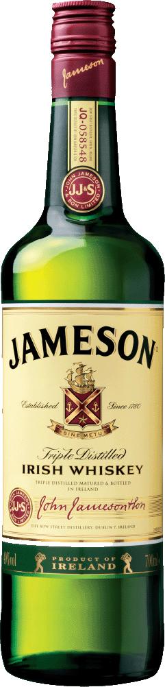 アイリッシュ ラッピング無料 宅配便送料無料 ウイスキー ジェムソン 正規品 40% ジェイムソン 700ml 20191201