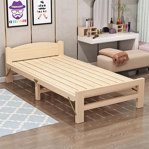 折り畳みが驚くほど軽くてスムーズな木製折りたたみベッド 折りたたみベッド 折り畳みベッド シングル シングルベッド 簡易ベッド コンパクト 省スペース ベット