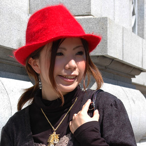 A soft felt hat hat of the ♪ last year extreme popularity that I show cute parenthesis, and is decided is appearance ◆ rich Angolan soft felt hat hat by new color addition