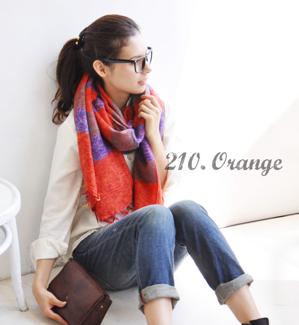 It is ◆ エーラボーダーモヘアラージストール in winter in the large size stall man and woman combined use Lady's men horizontal stripe scarf cold protection rug blanket thick fall and winter who can use multi-に as both a stall shawl and a rug