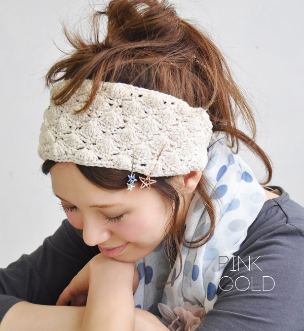 Big stars and little twin stars romantic and affordable 2 book set! Craft of handmade accessories like lots of / hair accessories / bling / dual-/ キラキララメグリッター / pink gold / yellow ◆ シューティングスターヘアピン