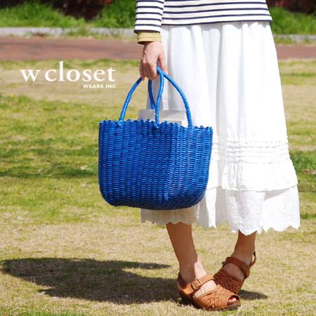 Cute flower cotton lace & frills 4 WAY skirt! ホルターネックチュニック Lonski, miniskirts, long-length petticoat / Maxi length ◆ w closet ( ダブルクローゼット ): グレープフラワー 2-WAY skirt