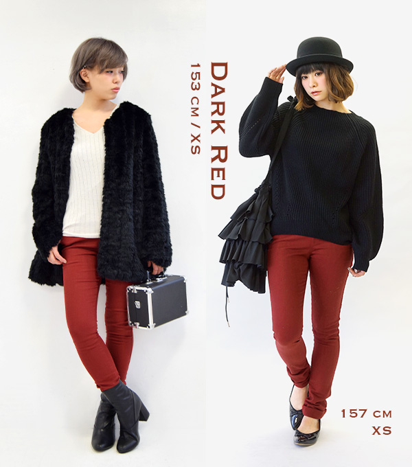 The slim underwear which features moderate casual appearance such as the leggings underwear / XS/S/M/L/LL denim. Lady's bottom tin Bonn ずぼん ◆ zootie (zoo tea): ☆☆ Marshal color denim leggings during the event