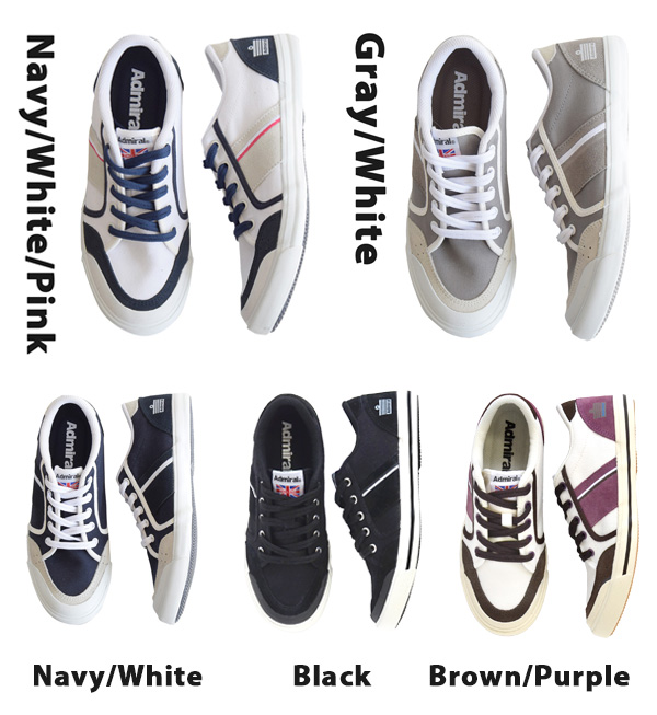 Unisex shoes low-frequency cut opera pump flat ぺたんこ big size present accessory shoes shoes ◆ Admiral (admiral) INOMER for the woman for the basic Ino Male Dis men man of Admiral which is famous as sneakers soccer brand