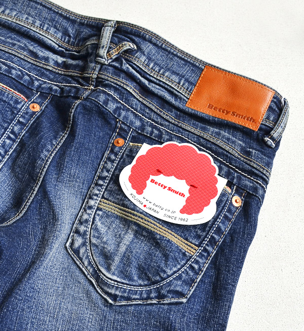 ●●The slim silhouette of the denim material with the texture creates a clean line! Denim underwear ◆ Betty Smith (Betty Smith) where features the simple design that play ゴコロ overflows to particular D Tyr: Slim denim underwear