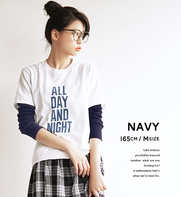 As for cut-and-sew / M L this, it is a wardrobe! The simple long sleeves cut-and-sew which is usable in an out in in. ◆ zootie (zoo tea) in the spring and summer 100% black-and-white lady's tops long sleeves Ron T long length T-shirt cotton layering plai