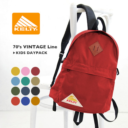 To a rucksack woman! The vintage line kids day pack of the Kelty constant seller! Rucksack rucksack Lady's outdoor child child excursion Lady's attending school commuting rucksack ◆ KELTY (Kelty) VINTAGE Line KIDS DAYPACK 2