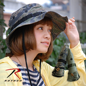 Is your town use a full-fledged military Hat fashion! Instructors in your bag when you go out from it's pocketable! / men combined / unisex / UV / ウルトラフォースブーニーハット / with ◆ ROTHCO ( Rothko ) :ULTRA FORCE BOONIE HAT