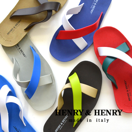 "B sun ""cross"" made in Italy! It is ◆ HENRY&HENRY (Henry & Henry) CROSS in pool sea festival leisure in ♪ Lady's men unisex man and woman combined use matching pair beach sandal B sun summer made of flexible rubber superior in a grip"