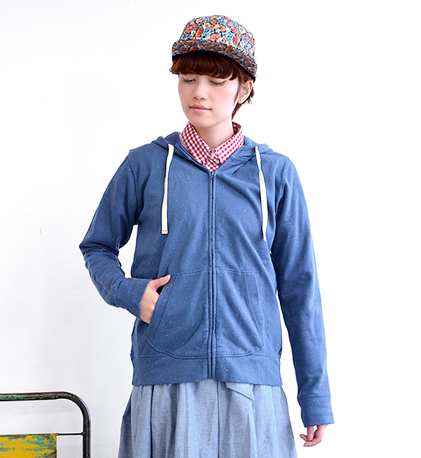 It is totally full of expressions like a cloth with patterns parka! A zip up fleece pile sweat shirt with the food which the colorful NEP that is POP dances! The seven minutes sleeve which is usable in a long season! / kangaroo pocket / haori / light out