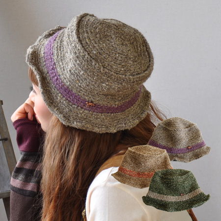 fb9958b0 Line with natural hemp and Walnut hat. In the brim of the wire in the ...