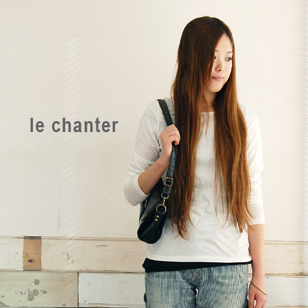 To see a simple sewn' want to wear one, after all items. The compact sizing slightly a-line plain Ron Tee / women's / sleeve ◆ basic le chanter ( ルシャンテ ) Chateau