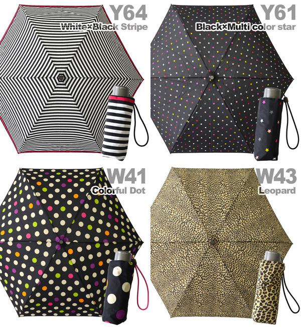 Bread small lightweight umbrella 'tiny'! UPF 50 + UV UV cut machining and excellent water repellency rain or shine unisex umbrella / folding umbrella / parasol / umbrella / ladies ' / women's / rain gear / Leopard pattern / / camouflage / border pattern