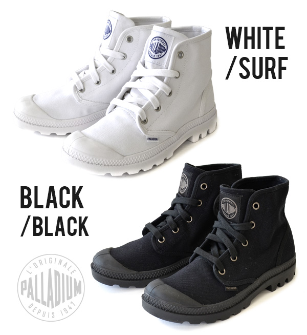 Heavy sole's characteristic of canvas shoes. Form such as Mountain boots, lean sleek simple design / shoes / Hyatt / import /women's / Womens ◆ ( Palladium ) PALLADIUM Pampa Hi [ladies]
