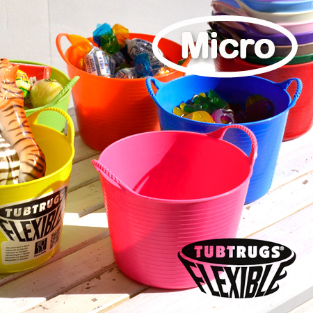 "A tiny bucket table size ""マイクロタブ"" new! Food also OK, 100 ml for each memory with as well as around the desk tidy in the measuring cup • / interiors / tidy kitchen utensils kitchenware / Dinnerware ◆ Tubtrugs ( tubtrugs ) :Tubtrugs Micro Tub 0.37 L"