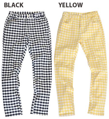 レギパン your too skinny your are OK! Mixed cotton twill material of polyurethane skinny pants. Moderately fit leg legs line: レギンスパンツ / ladies / ◆ w closet ( ダブルクローゼット ): ギンガムチェックストレッチツイルスキニー pants