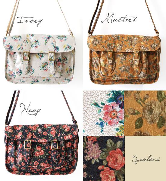 A feeling of crack-like antique is plentiful! At the pochette shawl bias of the belt flap type back ◆ Legato Largo (legato largo): Classical flower bouquet fake leather mini-shoulder bag