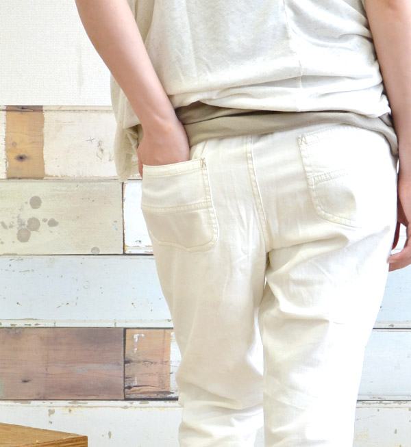 Point 9-take a peek at a glance and ankle length is mature gentlemen! Rayon mixed with soft cotton twill women's crop pants. West behind only rubber fun Chin specifications. 9 minutes length and cropped-length ◆ ウエストタックライトツイルテーパード pants length [nine]