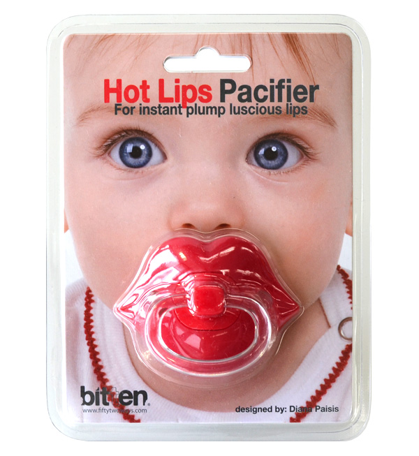 Makeover just chew on the CHOW sexy lips sucking! man you can give children regardless of boy & girl funny! baby essentials. Baby gifts, to present recommendations! / / Unisex / newborn / toys / lips because ◆ bitten ( bitoeng ) Juicy Lip Pacifier