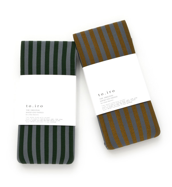 Though it is individual, it is easy to put it together. Adult is stripe pattern tights of the colors. Thickness and elastic tights cloth / footware / socks /80 denier / womens miscellaneous goods / Lady's / tube socks /toi13-ts019 ◆ to.iro (トイロ) stripe t