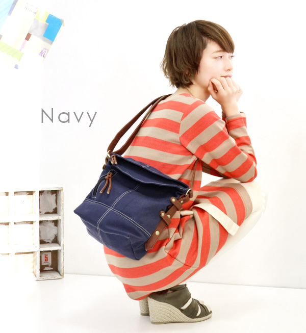 Mini-size Ver. of the longtime seller bag of our store! B5 cotton canvas canvas parent and child are prepared at small size Lady's bias to be able to have parent and child pairwise; child kids ◆ zootie (zoo tea) for the child: Mini-Colt shoulder bag