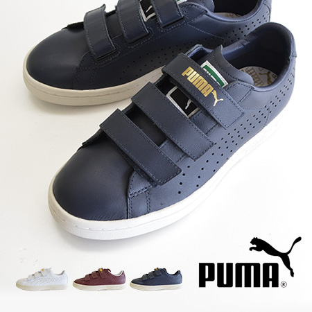 good texture crazy price look good shoes sale Kauto star V was designed with Velcro tape. Ladies sneaker shoes athletic  shoes low cut leather lifestyle Velcro White Navy Kauto star ◆ PUMA (PUMA)  ...