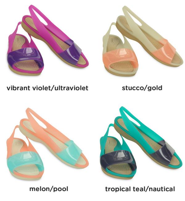 bca0c655d ... sandals mules low heel strap peep toe women s women s women s Beach  Sandals spring spring summer 200032 ◇ crocs (crocs) ColorBlock flat w