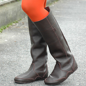 "● ● simple ingredients is very fine leather boots! A happy accent tall, thick Buffalo leather tags boots appeared more ""Diu"" ◆ Diu: スタンダードレザータグ boots"