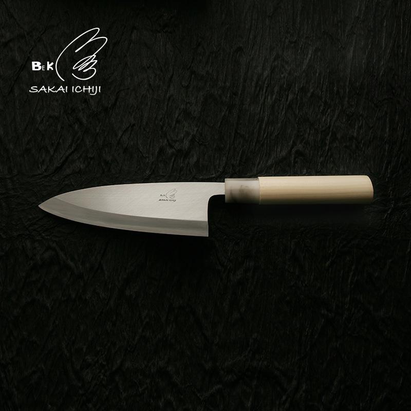 「堺一次」和包丁Bek左利き出刃包丁S12cm 80425【堺和包丁】【出刃包丁】【日本製】【業務用】