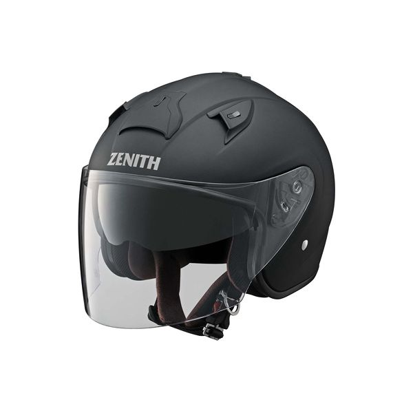 【YAMAHA】YJ-14ZENITH ジェットヘルメット (ラバートンブラック / Mサイズ) YJ14RBKM(2333387)