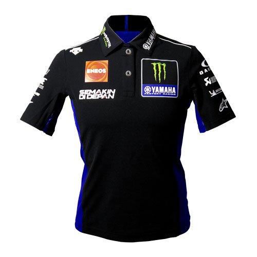 YAMAHA ヤマハTeam AUTHENTIC レディースポロシャツ ブルー×ブラック / Sサイズ ヤQ5DYSK68200W(2472484)送料無料