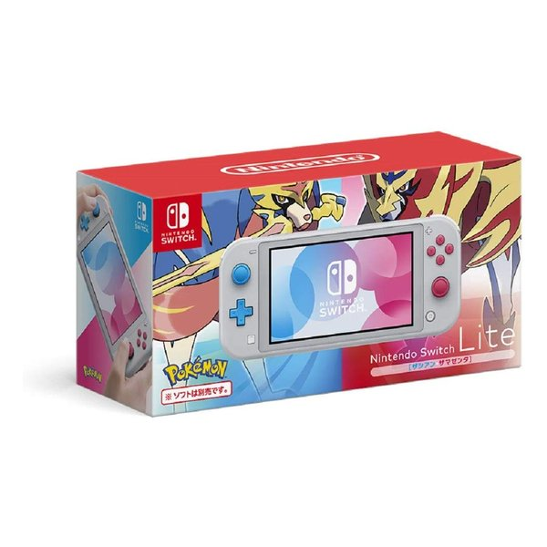 Nintendo 任天堂 ニンテンドーNintendo Switch Lite ザシアン・ザマゼンタ HDHSGBZAA(2481753)通常送料1万円以上