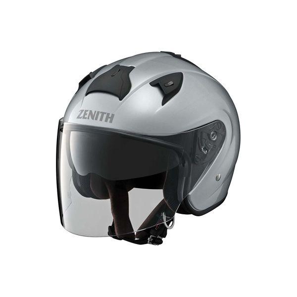 【YAMAHA】YJ-14ZENITH ジェットヘルメット (クリスタルシルバー / Mサイズ) YJ14CSVM(2333383)