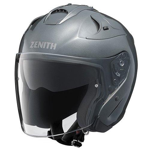 【5/20はエントリー+カードでP12倍】YAMAHA ヤマハYJ-17 ZENITH-P ジェットヘルメット ダークメタリックシルバー / Lサイズ YJ17PDMSVL(2397734)送料無料