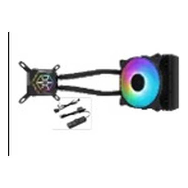 SILVER STONE シルバーストーン水冷クーラー SSTPF120ARGB(2480258)送料無料
