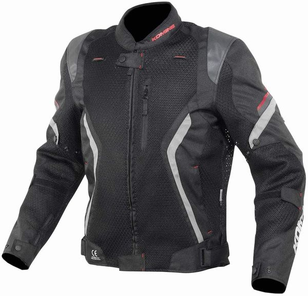 KOMINE コミネリフレクトメッシュジャケット ブラック / Lサイズ JK144BKL(2492894)送料無料