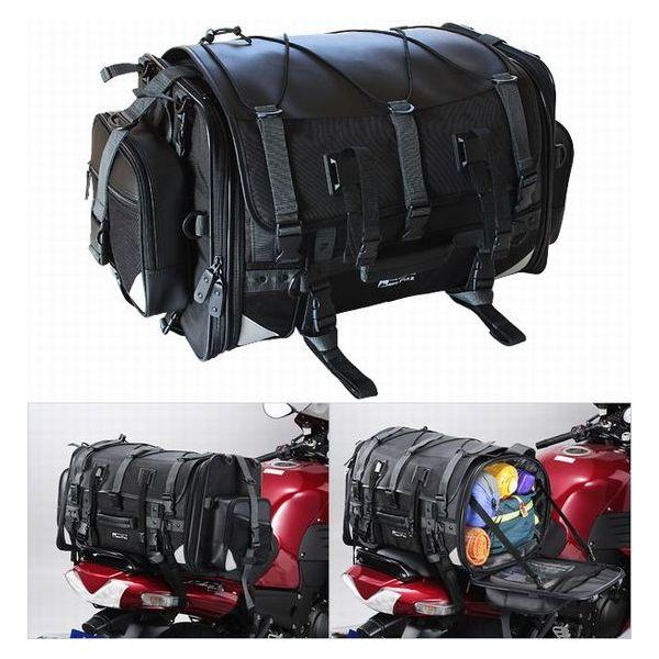 【TANAX】MOTOFIZZ キャンピングシートバッグ2 /ブラック(59⇔75L) MFK-102(2173851)※代引不可