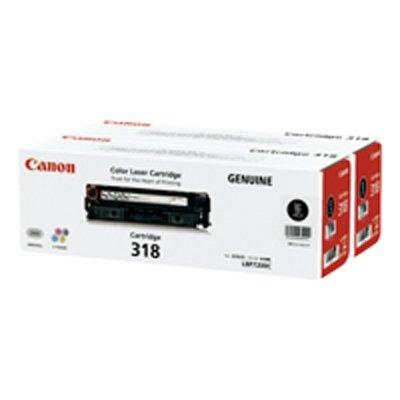 Canon キヤノン CRG-318BLKVP トナーカートリッジ318VP(ブラック)(2301886)代引不可 送料無料