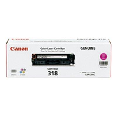 Canon キヤノン CRG-318MAG トナーカートリッジ318(マゼンタ)(2213366)代引不可 送料無料