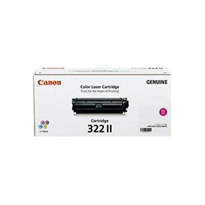 Canon キヤノン CRG-322IIMAG トナーカートリッジ322 II(マゼンタ)(2258514)代引不可 送料無料