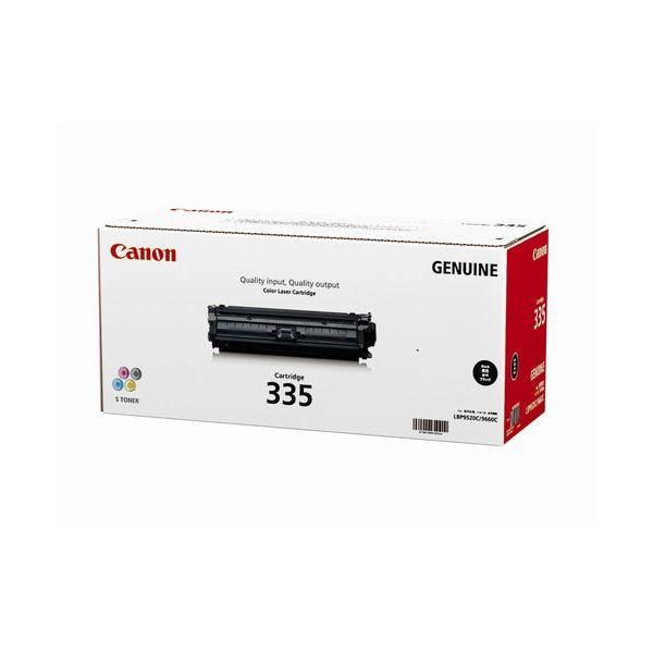Canon キヤノン CRG-335BLK トナーカートリッジ335BK(ブラック)(2407855)代引不可 送料無料
