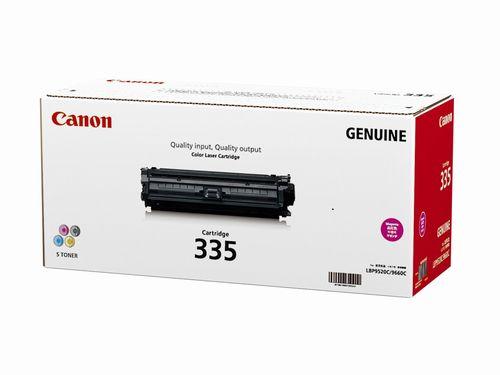 Canon キヤノン CRG-335MAG トナーカートリッジ335M(マゼンタ)(2407861)代引不可 送料無料