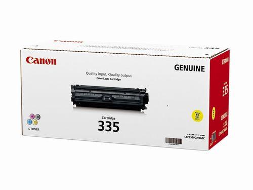 Canon キヤノン CRG-335YEL トナーカートリッジ335Y(イエロー)(2407862)代引不可 送料無料