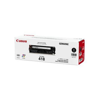 Canon キヤノントナーカートリッジ418 ブラック CRG-418BLK ブラック(2248063)代引不可 送料無料