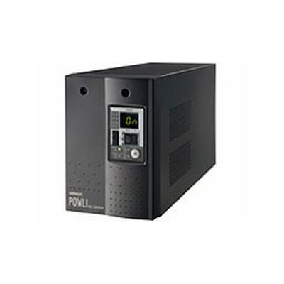 OMRON オムロン無停電電源装置 常時インバータ給電 750VA BU75SW(2105390)代引不可 送料無料