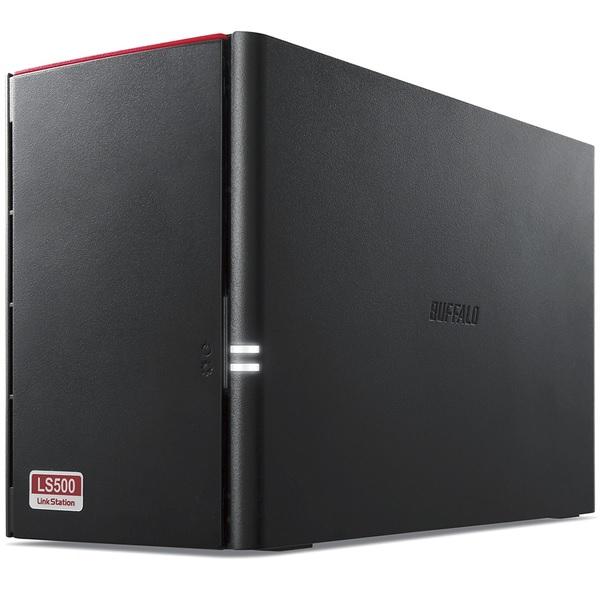 BUFFALO バッファローLinkStation for SOHO 2TB RAID 3年保証 ネットワークHDD LS520DN0202B(2434073)代引不可 送料無料