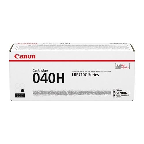Canon キヤノン CRG-040HBLK トナーカートリッジ040H(ブラック)(2407850)代引不可 送料無料