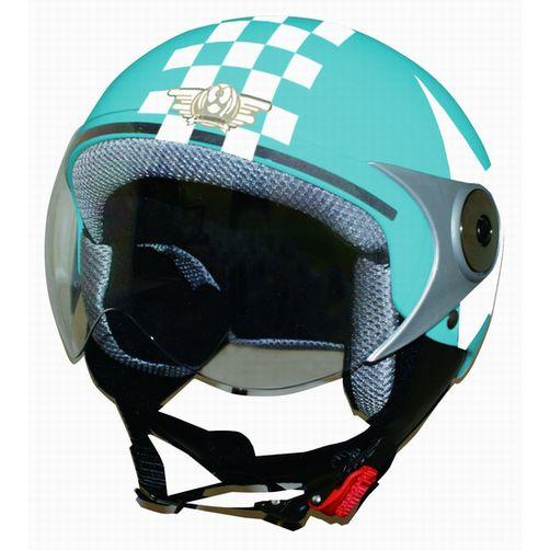 DAMMTRAX ダムトラックスDAMMTRAX バイクヘルメット POPO GT BLUE STAR POPOGTBLスター(2386744)代引不可 送料無料